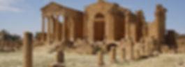 Het Capitool met de 3 tempels in Sbeitla, Tunesië - Saffraan Reizen