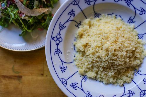 Handmade couscous