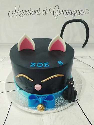 Chat noir de Zoé