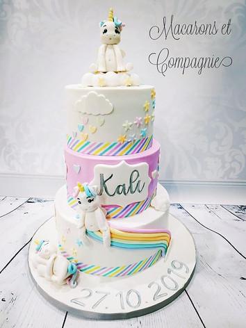 Dernier gâteau de baptême de la saison a