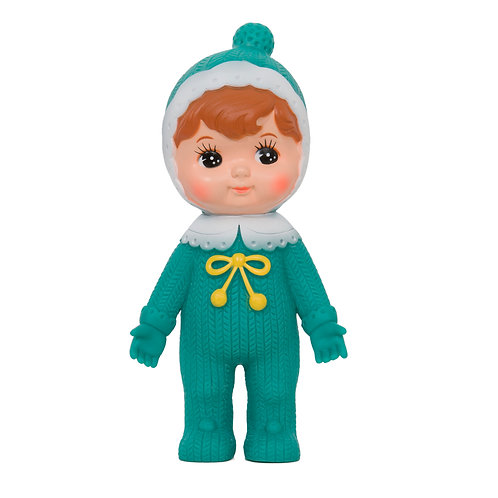 JADE WOODLAND DOLL WITH BOBBLE HAT