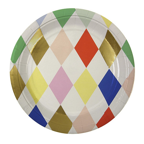 TOOT SWEET HARLEQUIN SMALL PLATE