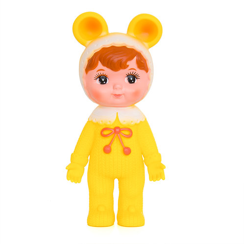 YELLOW WOODLAND DOLL WITH EARS