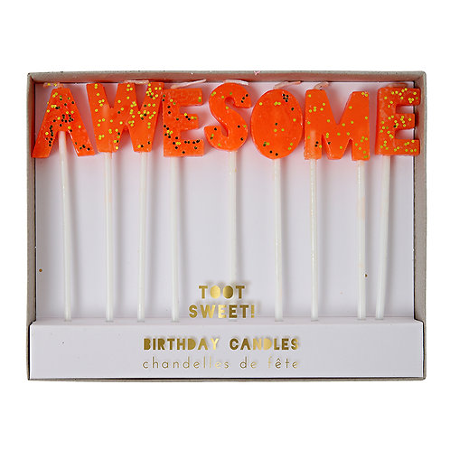 AWESOME BIRTHDAY CANDLES