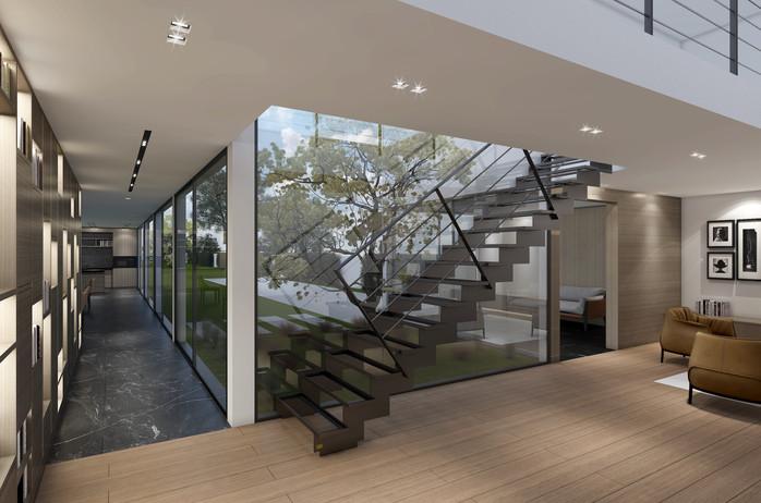 Environnement pour escalier
