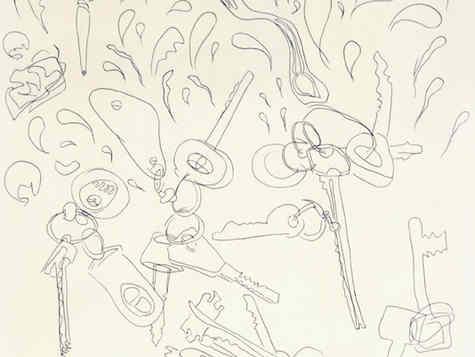 pen on paper 30/30cm