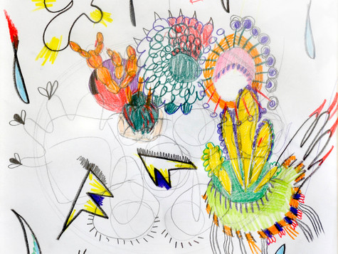 pencil on paper 30/30cm