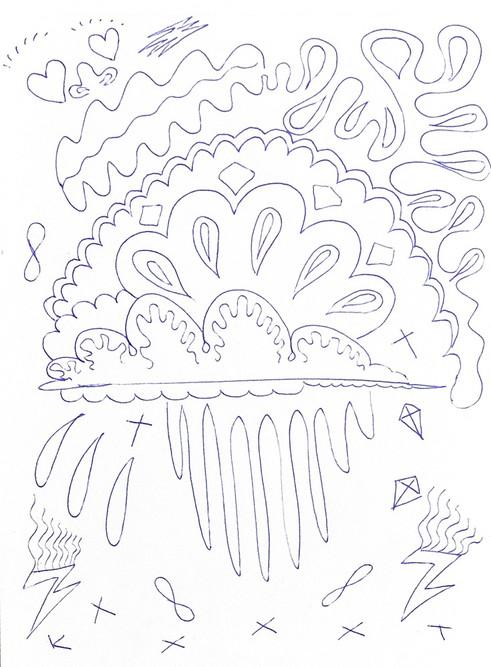 pen on paper 15/20cm