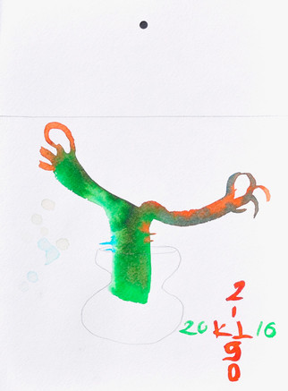 drawing, liquid water color 20/30CM