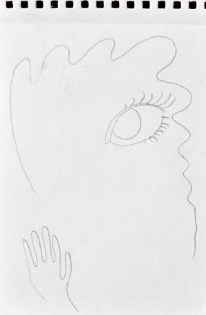 Self- portrait/ right hand