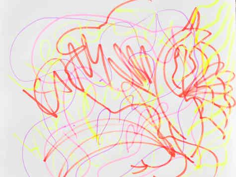 marker on paper 30/30cm