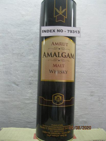 AMRUT AMALGAM MALT WHISKY 750 ML (GLASS BOTTLE)