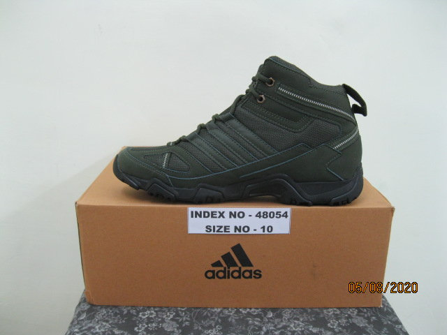 ADIDAS SHOES XAPHAN MID SIZE 10 SHOES (BLACK/FANGO)