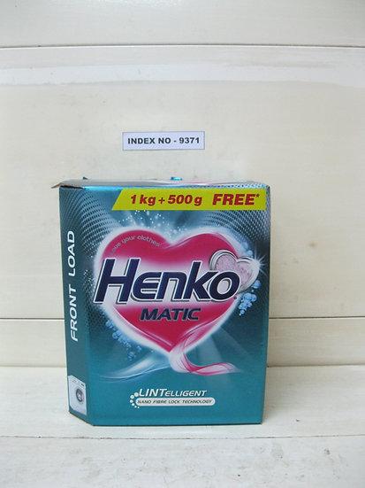 HENKO MATIC LINTELLIGENT FRONT LOAD DETERGENT POWDER 1 KG