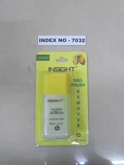 INSIGHT NAIL POLISH REMOVER 80 ML (ASSORTED FRAGRANCE)