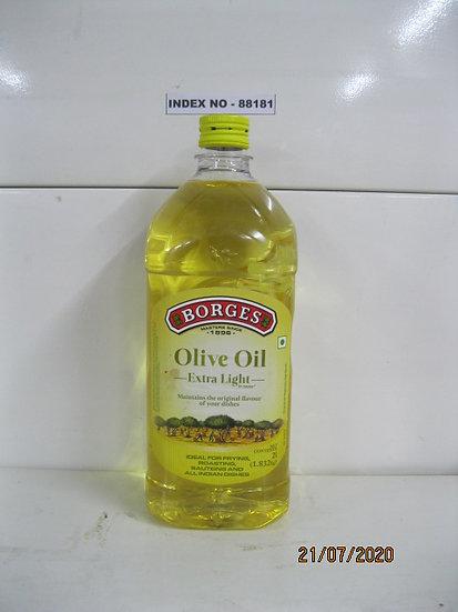 """""""BORGES"""" EXTRA LIGHT OLIVE OIL 2 LTR PET BOTTLE"""