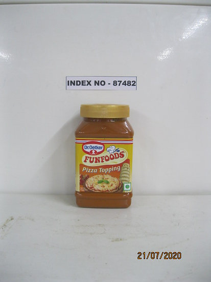 """""""DR. OETKAR BRAND"""" FUNFOODS PIZZA TOPPING 325 GMS"""