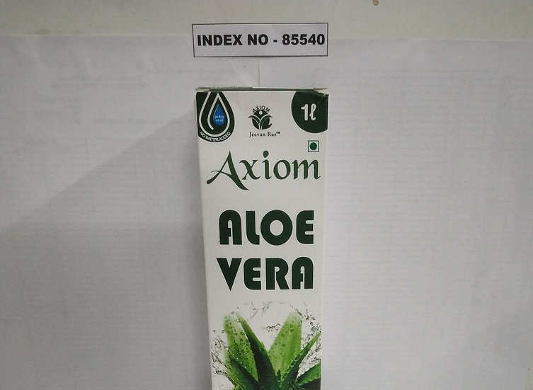 """AXIOM JEEVAN RAS"" BRAND AXIOM ALOEVERA JUICE 1000 ML"