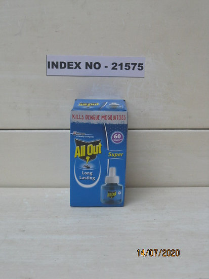 ALL OUT INSECTICIDE REFILL 60 NIGHTS (45 ML)