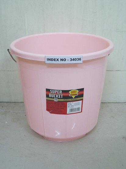 BHARAT BUCKET PLASTIC 16 LTR