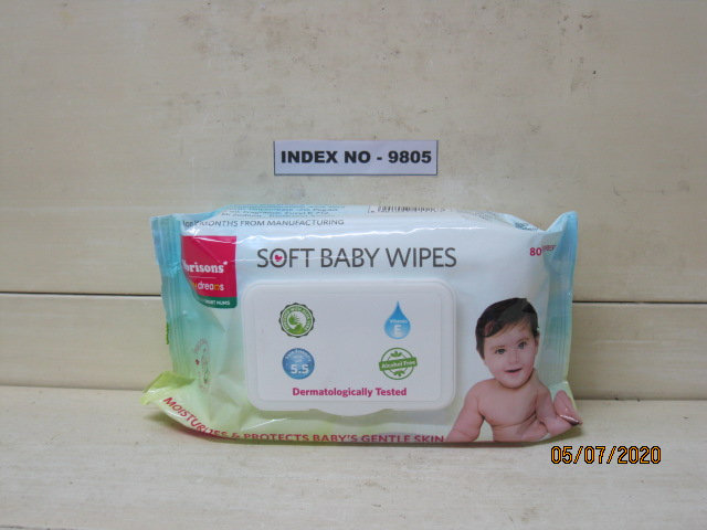 'BABY DREAM SOFT WIPES 80S