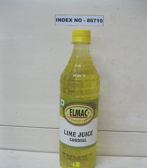 """ELMAC"" BRAND LIME JUICE CORDIAL 700 ML"