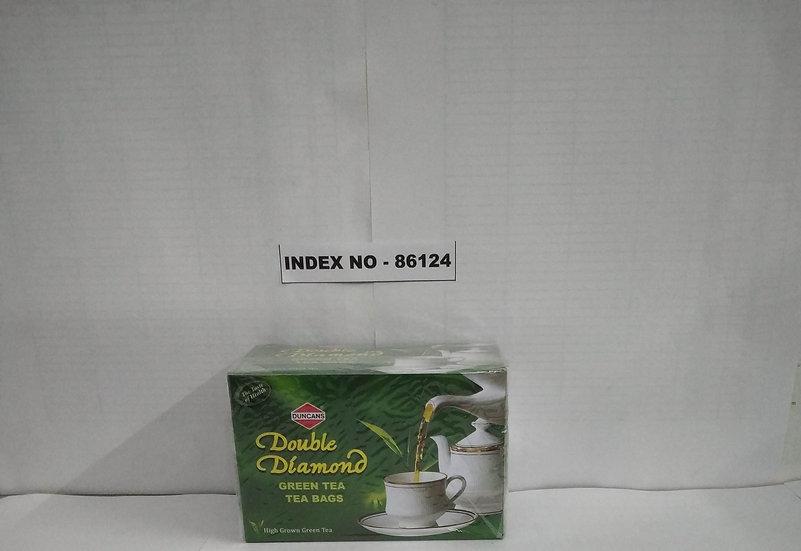 DOUBLE DIAMOND GREEN 25'S TEA BAG