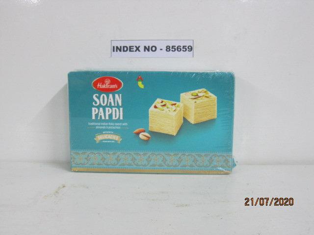 HALDIRAM BRAND SOAN PAPDI /CLASSI INDIAN SOAN PAPDI (CLASSIC) 250GMS