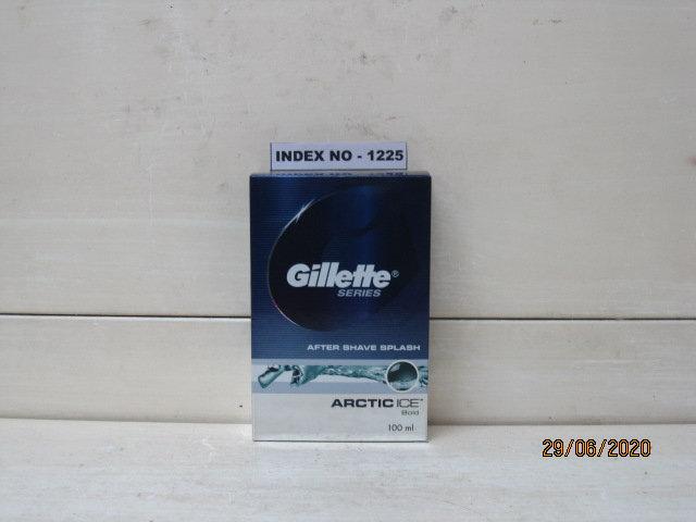 GILLETTE AFTER SHAVE SPLASH  100 ML (COOL WAVE / ARCTIC ICE)