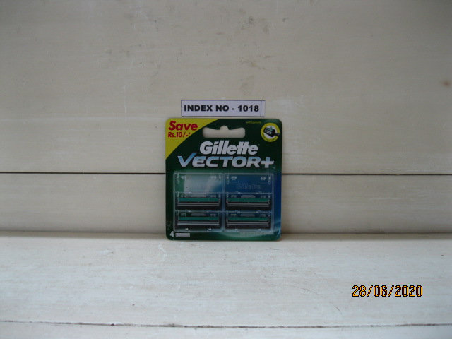 GILLETTE VECTOR TWIN BLADE 4'S PACK