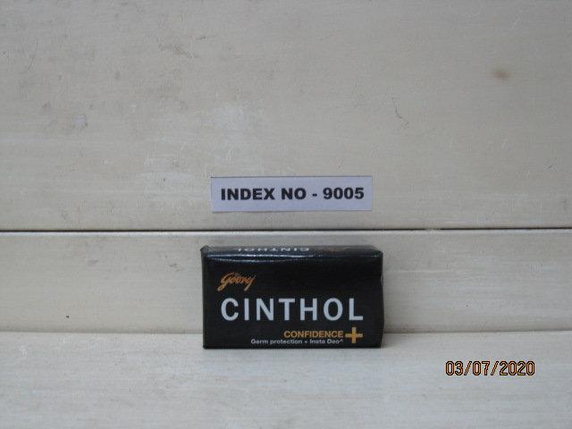 GODREJ CINTHOL TOILET SOAP 125 GMS (CONFIDENCE / DEO)