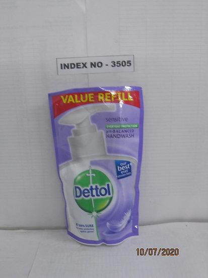 DETTOL LIQUID HAND WASH 175 ML REFILL PACK - SENSITIVE