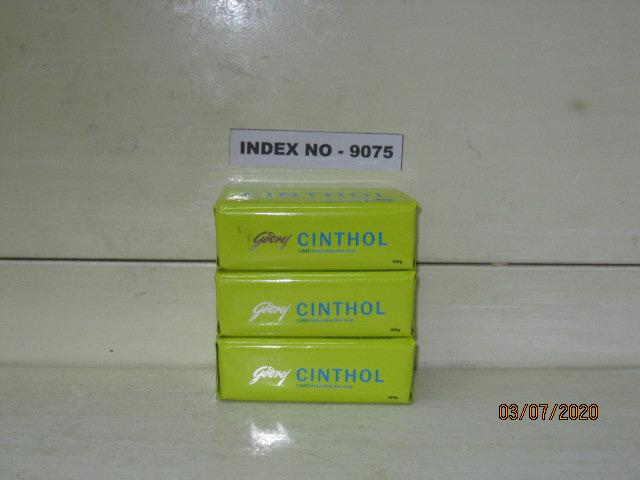 GODREJ CINTHOL LIME REFRESHING DEO SOAP 125 GMS (A PACK OF 3)