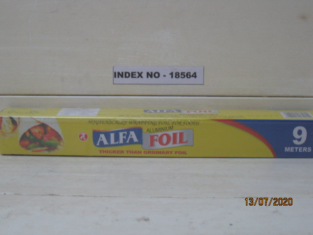 ALUMINIUM FOIL WITH CUTTER FIXED