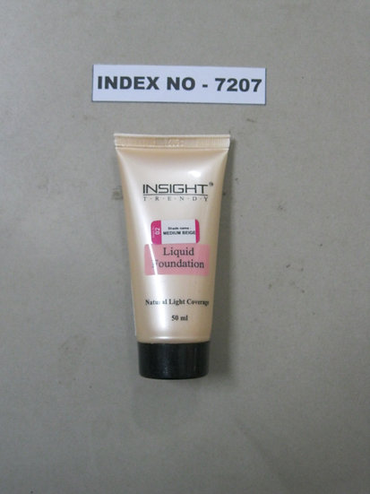 INSIGHT LIQUID FOUNDATION NATURAL LIGHT COVERAGE-50 ML (ASSORTED SHADES)