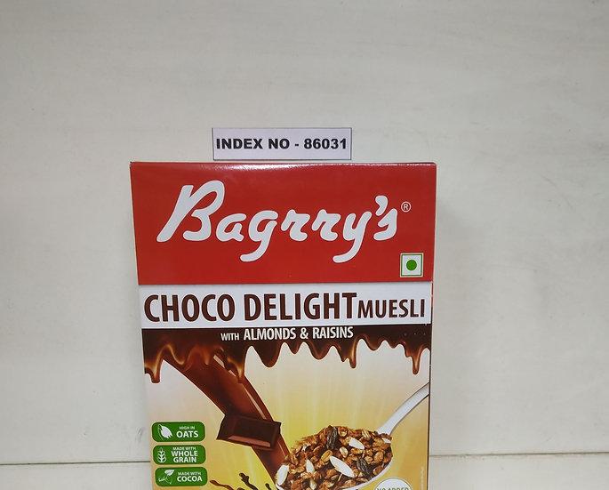 BAGRRYS CHOCO DELIGHT MUESLI 400 GMS BOX