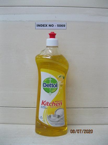 DETTOL KITCHEN DISH & SLAB GEL LEMON FRESH 750 ML