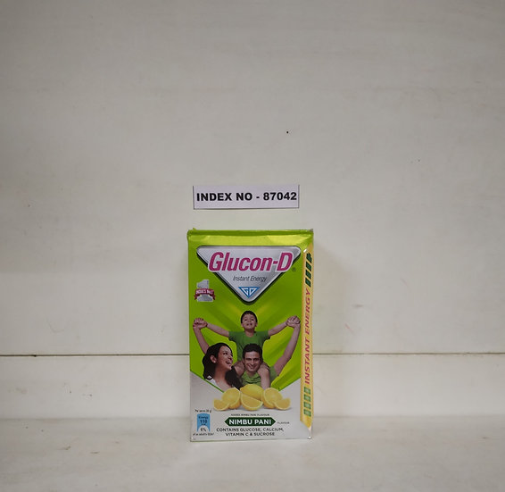 GLUCON D NIMBU PANI 500 GMS