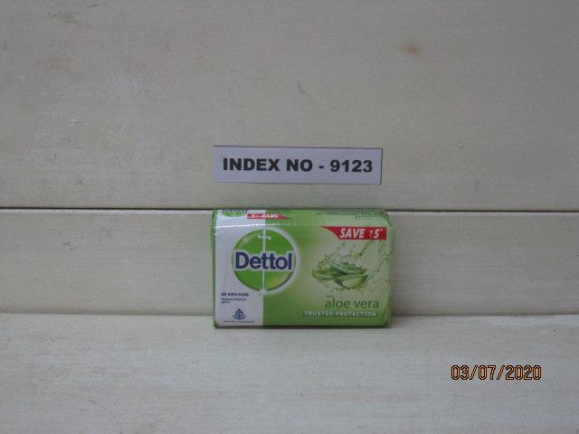 DETTOL SOAP ALOE VERA 100 GM