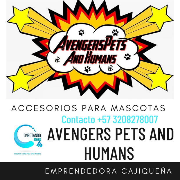 AVENGERS PETS AND HUMANS