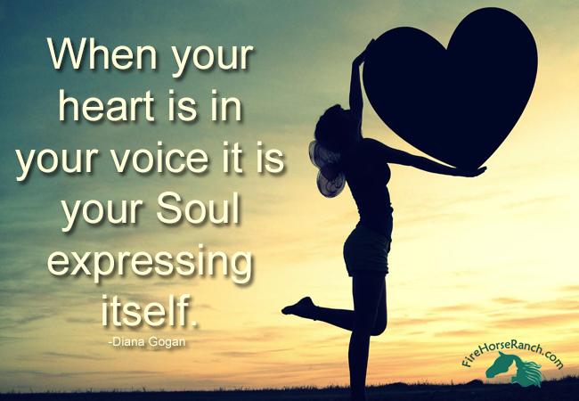 voice in heart