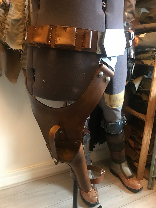 Han Solo Utility Cosplay Belt and Holster Rig