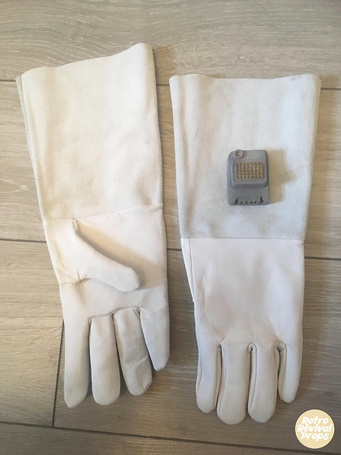 Luke Skywalker, Han Solo Hoth Snow Trooper Gloves with Comm link