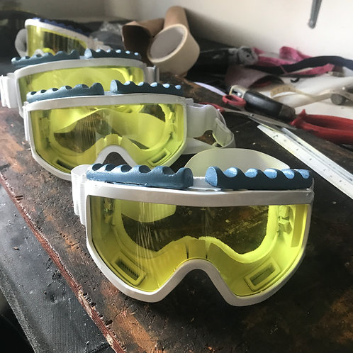 Hoth Snow Goggles Scratch built