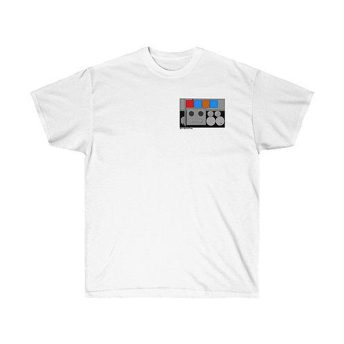 Leia Organa Hoth badge logo Retro Revival Props Logo Cotton Tee Unisex