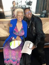 Dionne & Jazz and Blues Legend Barbara Morrison