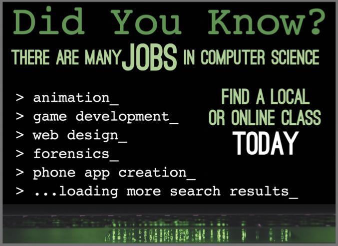 Computer Science Half Page Ad