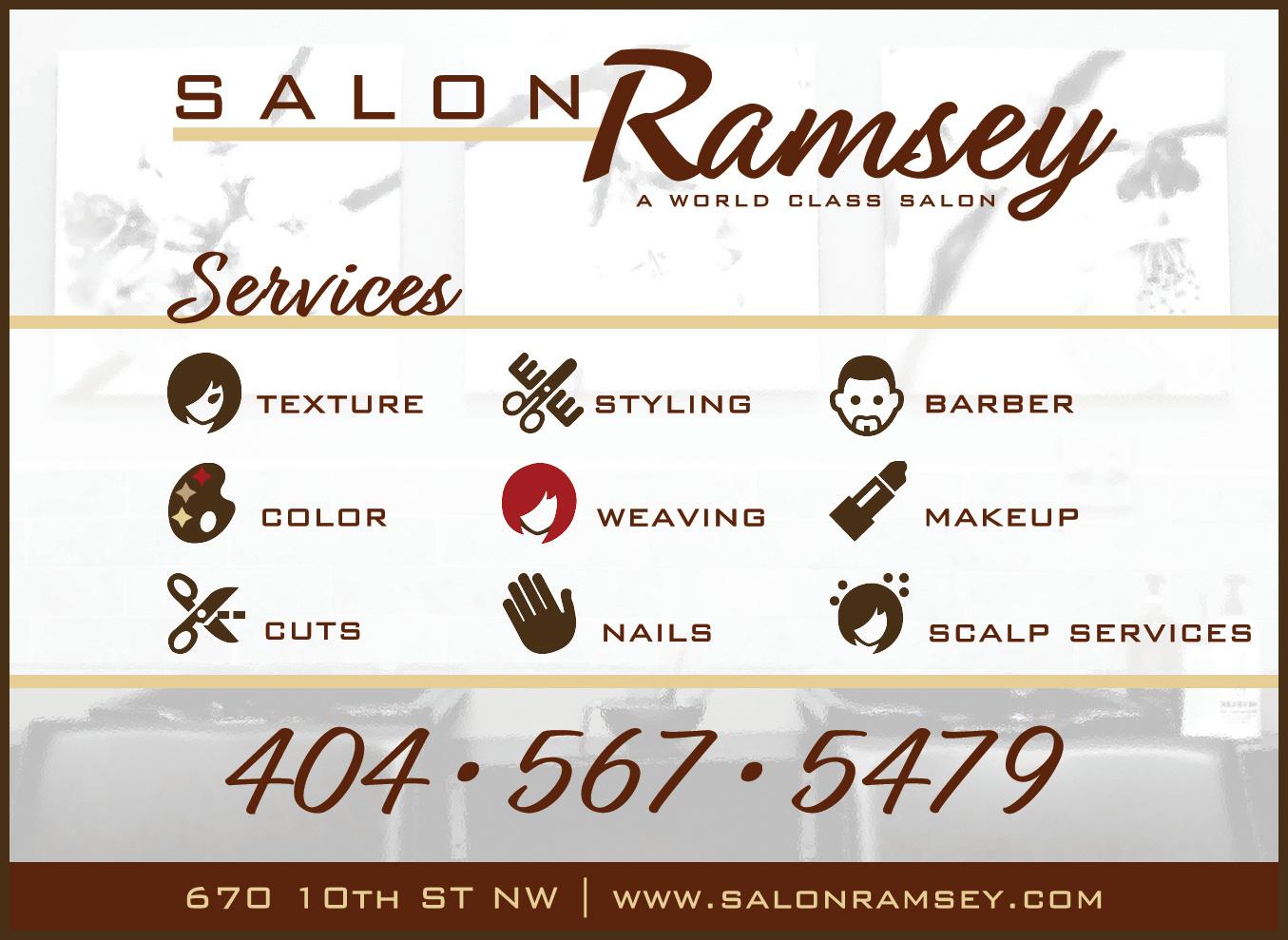 Salon Ramsey Ad