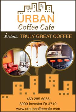 Urban Coffee Cafe Ad