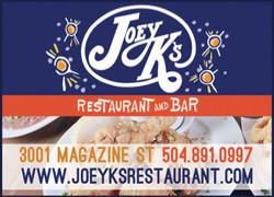 Joey K's Ad